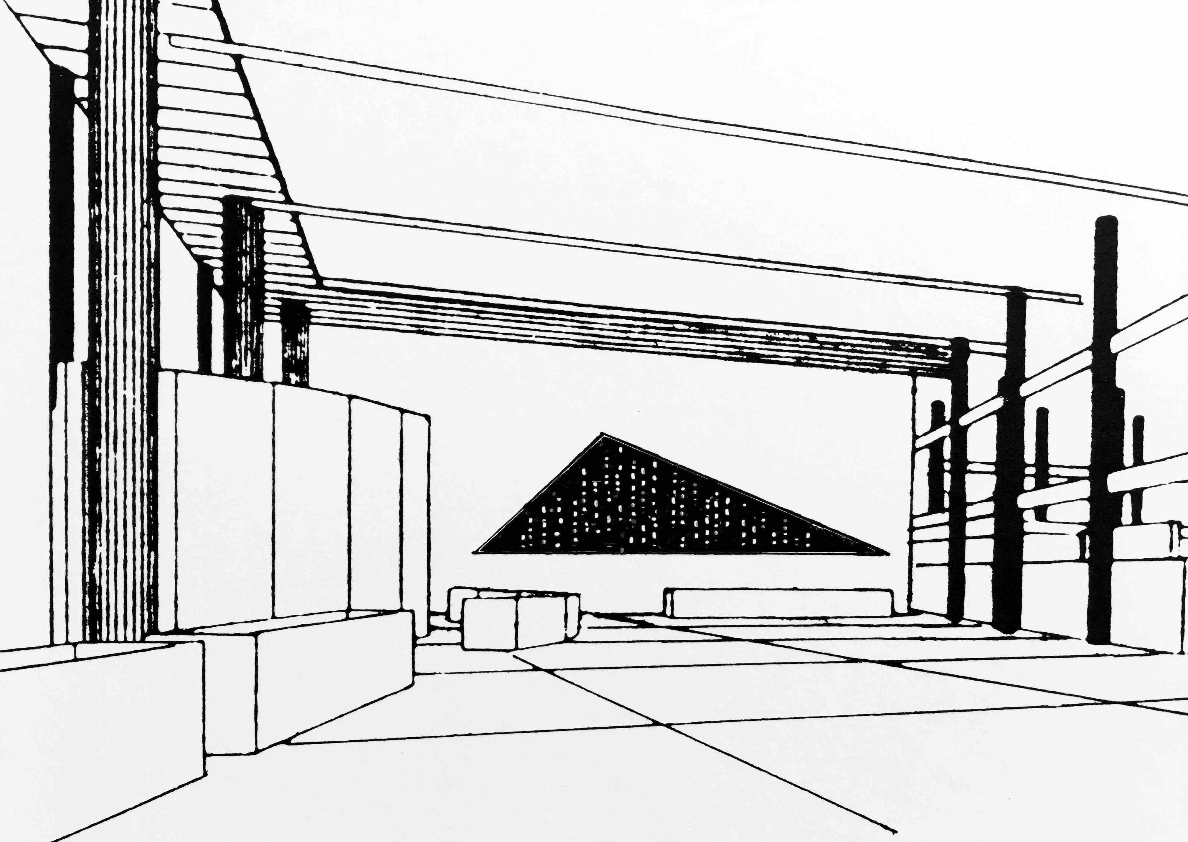 lichtregen, simulation  1991