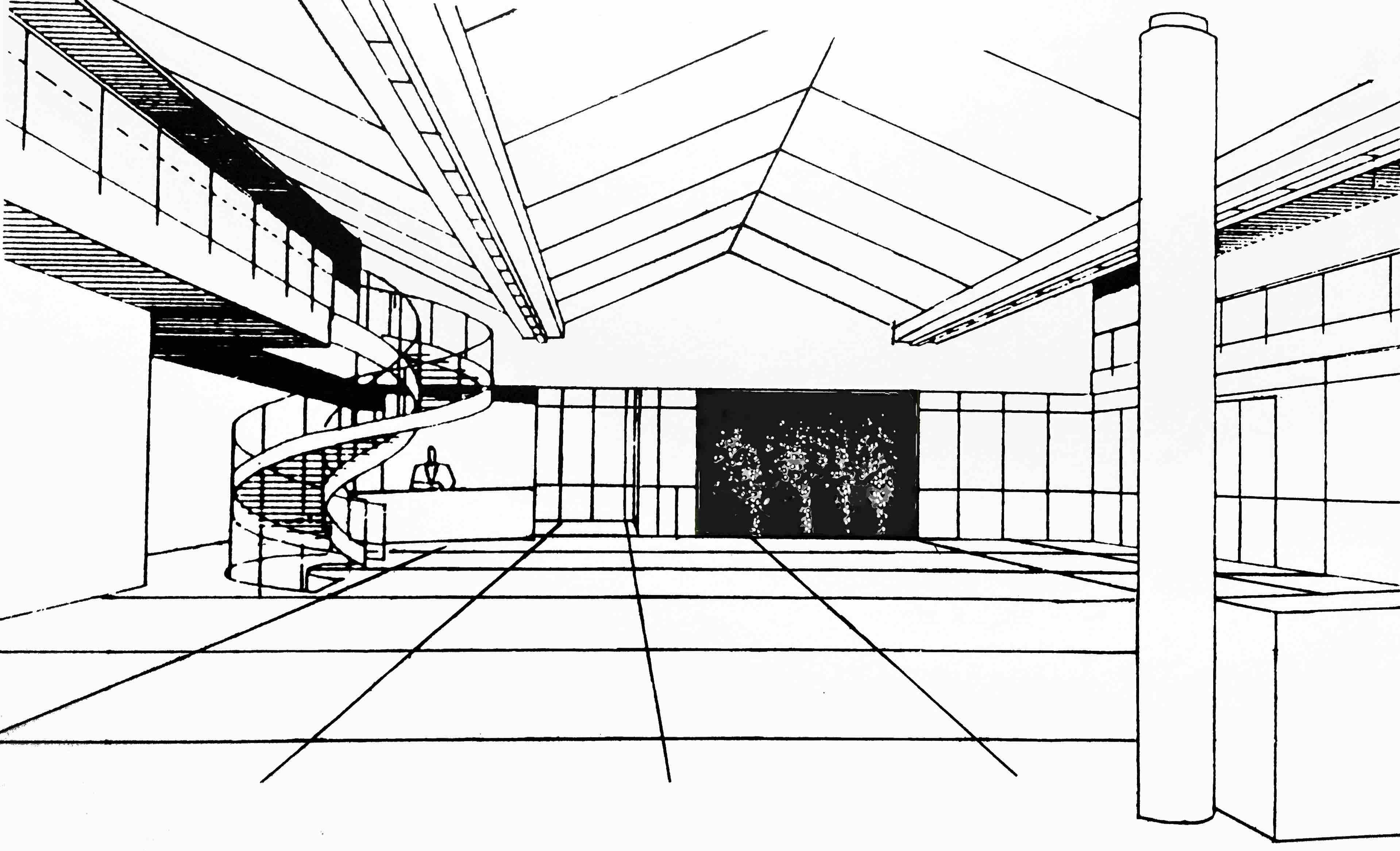 simulation foyerhalle